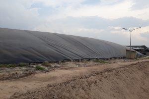 màng chống thấm HDPE hồ Biogas