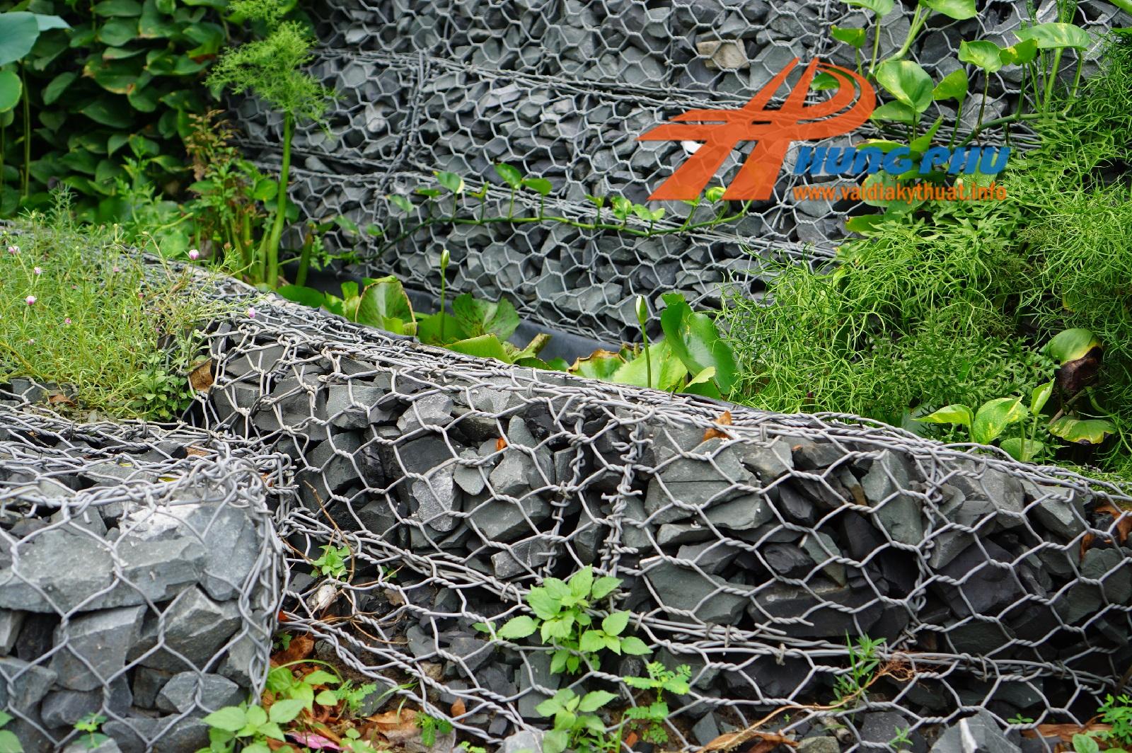 Vải địa trồng cây trang trí cảnh quan, vườn ươm