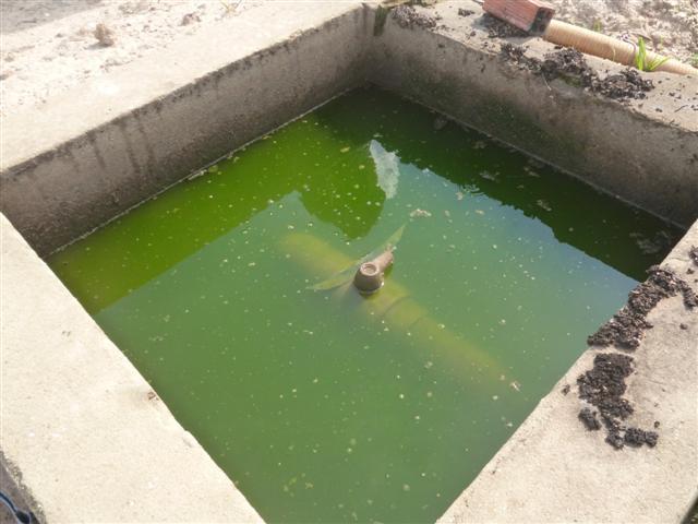 Hầm Biogas phủ bạt nhựa HDPE