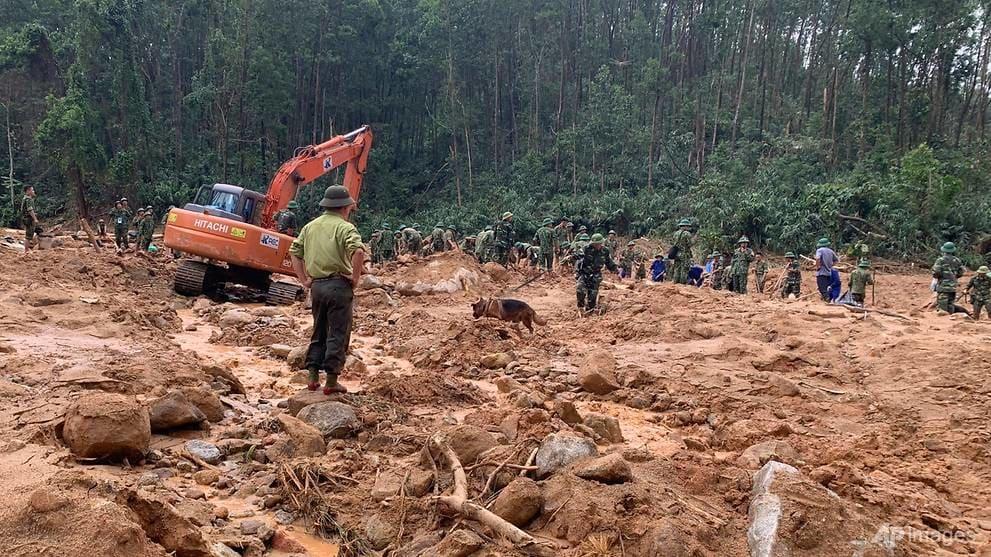 sạt lở đất ở Việt Nam