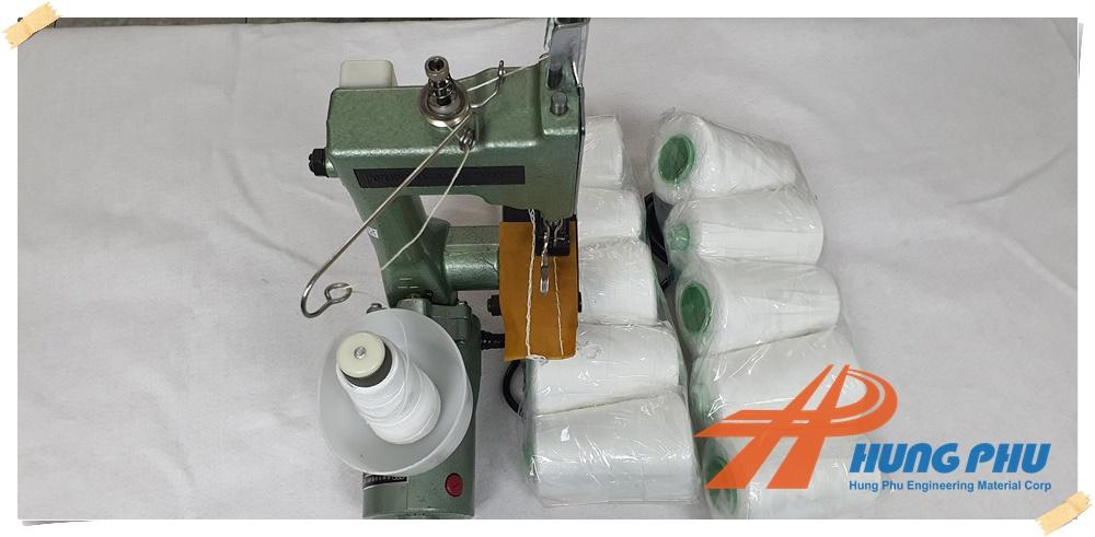 Biện pháp thi công vải địa kỹ thuật - Chỉ may vải địa kỹ thuật đúng chuẩn