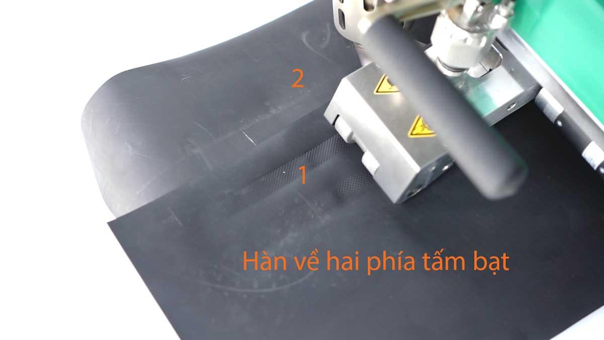 Chọn lựa máy hàn bạt HDPE cho công tác thi công màng HDPE